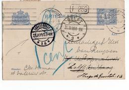 Den Haag 14 Langebalk Delft 2 - 1910 - Postal History