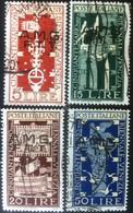 Italia - Trieste A 1949 - 50° Biennale Arte Venezia - 4 Usati - U 35/38 - Italia
