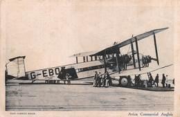 "6631 "" AVION COMMERCIAL ANGLAIS ""ANIMATA - CART. POST ORIG. NON SPEDITA (DATATA 1936) - 1939-1945: 2de Wereldoorlog"