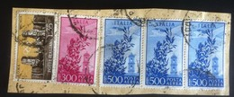 Francobolli Italia Repubblica - Striscia 3 Posta Aerea Campidoglio 1500 Lire - Italia