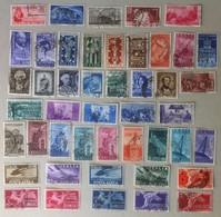 Italia Repubblica - Lotto Di 46 Francobolli 1946 / 1949 Usati - Catalogo ? 143 - Italia