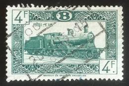 Belgio - Francobollo Locomotiva Ferrovia Treno - Usato - Non Classificati