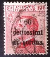 Italia Regno 1919 - Terre Redente Emissioni Generali 60c Su 60 Usato - Unif. 10 - Italia