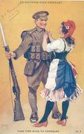 UN SOUVENIR POUR TIPPERARY (DESSIN DE M. CANIVET) (MARIANNE) - Patriotic