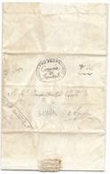 GOVERNO PROVVISORIO AUSTRIACO - DA FRONTALE AD APIRO - 31.10.1815. - Italia