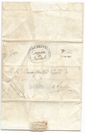 GOVERNO PROVVISORIO AUSTRIACO - DA FRONTALE AD APIRO - 31.10.1815. - 1. ...-1850 Prefilatelia