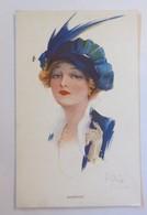 Künstlerkarte, Frauen, Mode, Hutmode, 1910  ♥ (58436) - Künstlerkarten