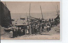 YPORT-Arrivée D'une Barque - Yport