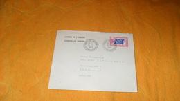 ENVELOPPE DE 1963...CONSEIL DE L'EUROPE...CACHETS STRASBOURG POUR WIEN AUTRICHE + TIMBRE - 1961-....