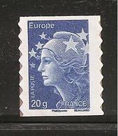 France, Autoadhésif, Adhésif, 592, Provenant De Carnet, Neuf **, TTB, Marianne De Beaujard - 2008-13 Marianna Di Beaujard