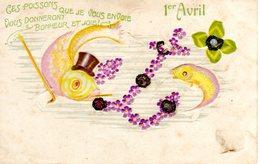 1° APRILE - 1er AVRIL - PESCE D'APRILE - POISSON D'AVRIL - N 295 - 1er Avril - Poisson D'avril