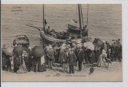YPORT-Arrivée Des Barques De Pêche, Vente Du Poisson - Yport