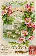 1° APRILE - 1er AVRIL - PESCE D'APRILE - POISSON D'AVRIL - N 299 - 1er Avril - Poisson D'avril