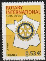 "FR Adhesif YT 52 (3750) "" Rotary Club "" 2005 Neuf** - Autoadesivi"