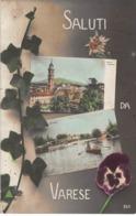 Italia  - Saluti Da VARESE -  Foto Cartolina, 1908 - Varese