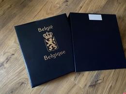 Années Complètes Dans Album DAVO LUXE Belgique  Avec Feuilles 2002 à 2006 - Full Years