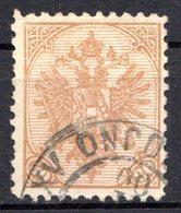 BOSNIE HERZEGOVINE (Administration Austro-hongroise) - 1900-01- N° 18a - 30 H. Bistre - (Armoiries) - Bosnien-Herzegowina