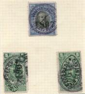 ECUADOR 1907 LOCAL ERROR VARIETY INVERTED Overprint LOT STAMPS UNCOMMON #51348 160120 - Equateur