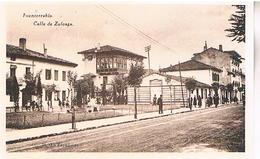 FUENTERRABIA   CALLE  DE ZULOAGA    TBE SP76 - Guipúzcoa (San Sebastián)