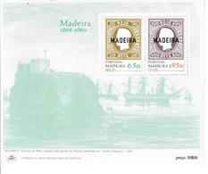 PORTOGALLO MADEIRA 1980 - FRANCOBOLLI - FOGLIETTO MNH** - Madeira