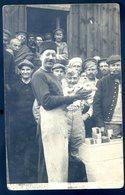 Cpa Photo 1917 Camp Prisonniers Cassel Allemagne Kriegsgefangenenlager Réception Colis Photo Strauss  DEC19-44bis - War 1914-18
