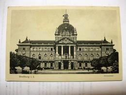1. WK, Feldpost, Straßburg I.E., Kaiserpalast, Frankreich, Gelaufen 1915 Stempel: Kaisl. Festungs-Lazarett - Oorlog 1914-18