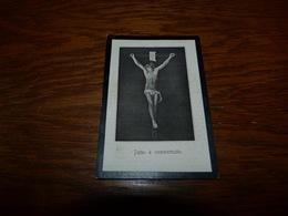 Souvenir Image Pieuse  Louise De COndé David 1912 - Décès