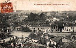 12643     VILLENEUVE DE MARSAN  VUE GENERALE - Villeneuve De Marsan