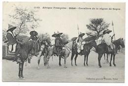 SEGOU-Cavaliers De La Région...1909  Animé - Sudan
