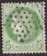 France 1871-75 Cérès N° 53 Etoile Pleine (A8) - 1871-1875 Ceres
