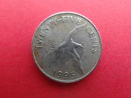 Bermude  25 Cents  1995  Km 47 - Bermudes