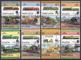St. Lucia Used Set - Trains