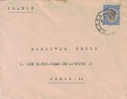TANZANIE - TABORA - LETTRE POUR PARIS LE 6 JANVIER 1934 - VIA DAR-ES-SALAM - CACHET AU VERSO. - Tanzanie (1964-...)
