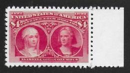 ETATS-UNIS 1893 YT 95 SCOTT 244 - ISABELLA AND COLUMBUS - COPIE/FAUX - Sonstige