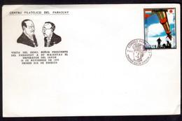 IZ238  Paraguay 1972 - Pres. Stroessner's Visit To Japan / Space  Mi. 2362 - FDC - Paraguay