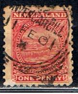 NOUVELLE ZÉLANDE 151 // YVER 97 // 1900-09 - Used Stamps