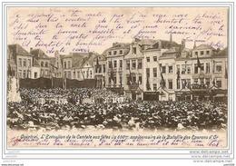 COURTRAI ..-- Fêtes Du 600ème Bataille Eperons D'Or . 1903 Vers BASTOGNE ( Mr Léon TAILLER Au Séminaire ) . Voir Verso . - Kortrijk