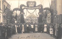 CPA -  Belgique,  La Paix Fete A  HEYST Op Den BERG, Carte Photo 1919. - Heist-op-den-Berg