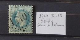 02 - 20 // France N° 29 - Oblitéré GC 1410 - Esbly - Seine Et Marne  - Indice 13 - 1863-1870 Napoleon III Gelauwerd