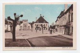 - CPA CONFLANS-SUR-LANTERNE (70) - Place De La République - Photo CIM - - France
