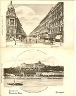 HONGRIE - BUDAPEST - LOT De 3 CPA - - Hongrie
