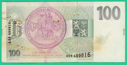 100 Korun - Tchécoslovaquie - N° A56/499816 - TTB - 1993 - - Cecoslovacchia