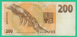 200 Korun - Tchécoslovaquie - N° A50/271731 - TTB - 1993 - - Cecoslovacchia