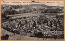 SAVERNE  -  ZABERN  -  ROSENGARTEN DES VEREINS  -   Août 1906 - Saverne
