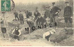 L'AIGLE (61)  CHASSE AU BLAIREAU - LA TRANCHEE - L'Aigle