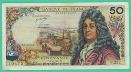 50 Francs - France - Racine - B.4-10-1973 - B. - N° P.222/10475 - TTB - - 1962-1997 ''Francs''
