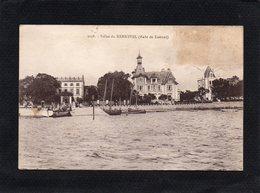 56  RADE DE LORIENT VILLAS DU KERNEVEL Cpa état Manque Les Timbres  Animation CPA 1914  N°3058 - Lorient