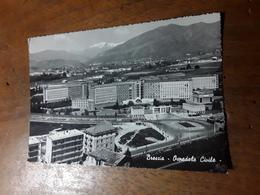 Cartolina Postale 1958, Brescia, Ospedale Civile - Brescia