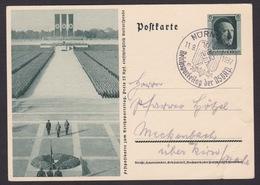AK Propaganda / Festpostkarte Zum Reichsparteitag Der NSDAP / Gelaufen 1937   ..  ( E 766 ) - Autres