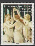"""FR Adhesif YT 509 (4519) """" Sandro Botticelli """" 2010 Neuf** - Adhesive Stamps"""